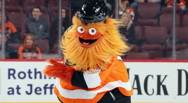 Best of 2018: Gritty takes Philly by storm 1