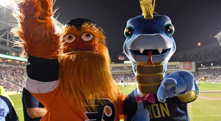 Best of 2018: Gritty takes Philly by storm 2