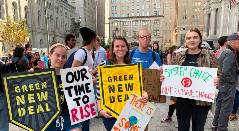 Philly-area students join global wave of climate change protests 3