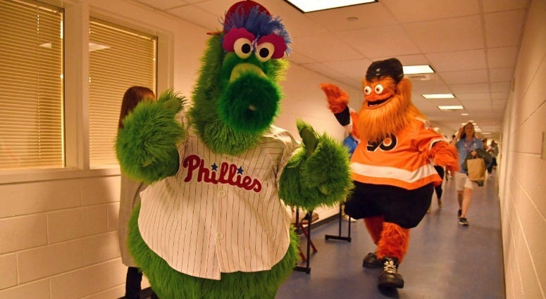 Best of 2018: Gritty takes Philly by storm 3