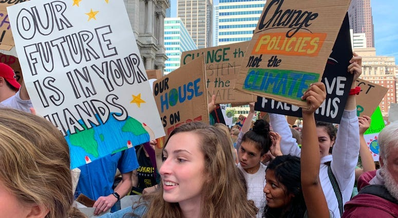 Philly-area students join global wave of climate change protests 6