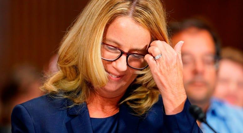 PHOTOS: Kavanaugh Hearings: Christine Blasey Ford testifies in Senate Judiciary hearing