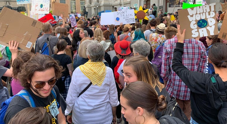 Philly-area students join global wave of climate change protests 7