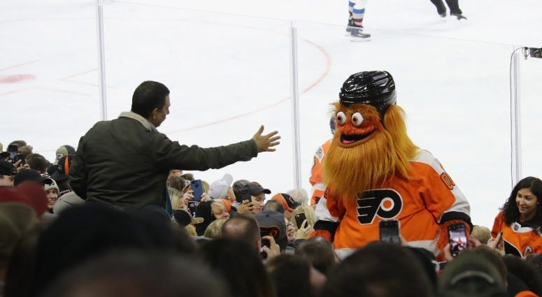 Best of 2018: Gritty takes Philly by storm 8