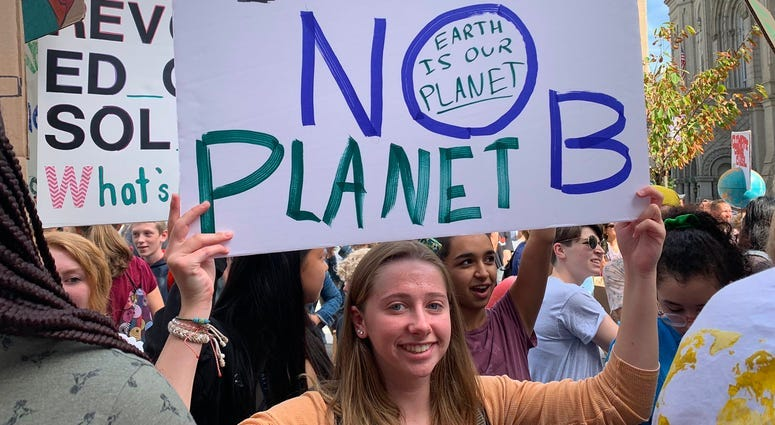 Philly-area students join global wave of climate change protests 8