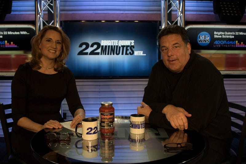 Actor Steve Schirripa Spends '22 Minutes' With Brigitte Quinn