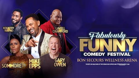 Fabulously Funny Comedy Festival featuring Mike Epps