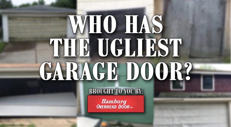Who Has the Ugliest Garage Door?