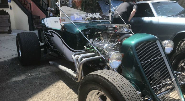 Car lovers flock to South Philly at East Passyunk Car Show