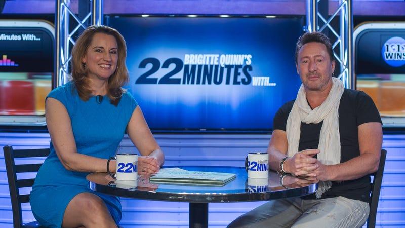 Julian Lennon Spends '22 Minutes' With Brigitte Quinn
