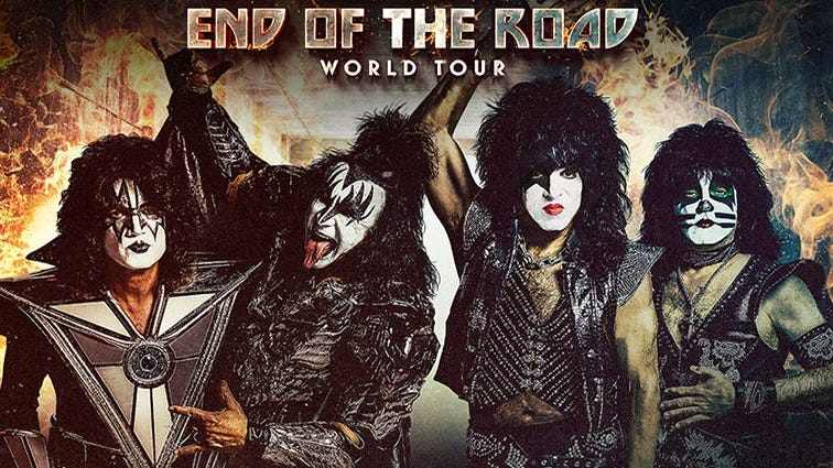 KISS: End of the Road Tour 2020