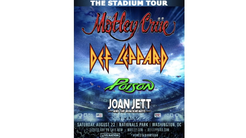 The Stadium Tour - Mötley Crüe & Def Leppard with special guests Poison and Joan Jett & The Blackhearts