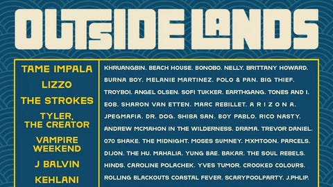 Outside Lands 2021!