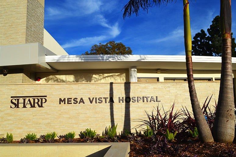 Sharp Mesa Vista Hospital