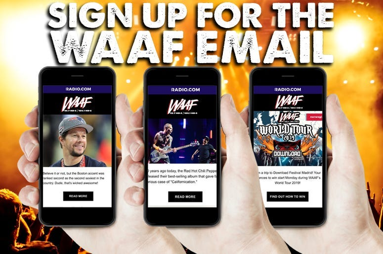 waaf - newsletter