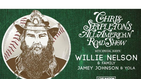 RESCHEDULED - Chris Stapleton - All American Roadshow