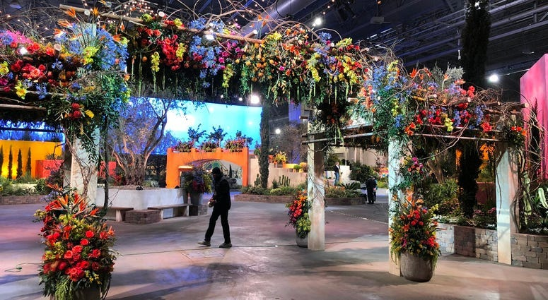 2020 Flower Show: An escape to South of France ... an escape from germs