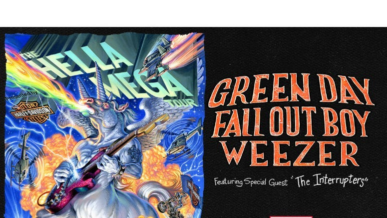 Hella Mega Tour - Green Day / Fall Out Boy / Weezer